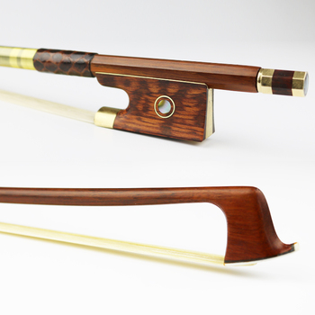 surveal handmade master carbon fiber cello bow natural white horse hair ebony frog carved best elastic with warm sound size 4 4 NEW 4/4 Size Pernambuco Violin Bow Snakewood Frog  Natural Mongolian Horse hair Violin Parts Accessories Free Shipping
