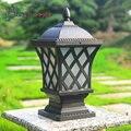 Luzes de LED À Prova D' Água Luz Do Jardim Ao Ar Livre Coluna de Cerca Estigma europeia Lâmpada de Parede Lâmpada de Interface E27 Fonte de Iluminação