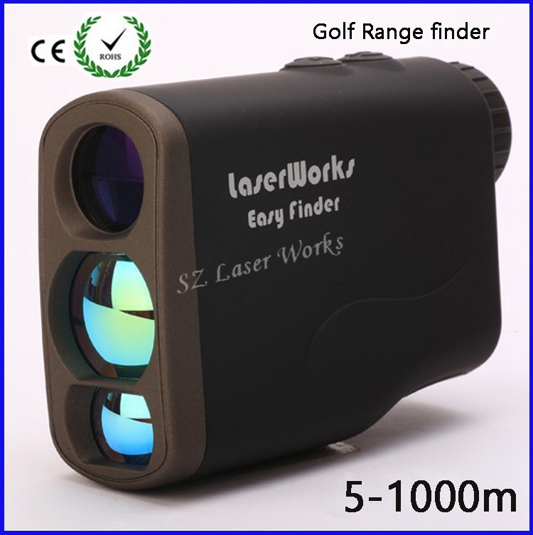 6x25 Hunting Monocular Telescope Golf Laser range Distance Meter Rangefinder 1000m Range Finder with 4 measurement modes  цены