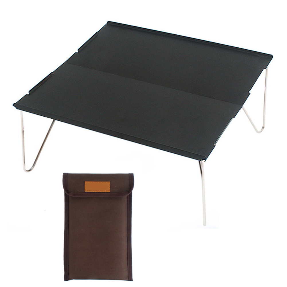 Aluminium Alloy Portable Folding Table with Storage Bag Simple Outdoor Picnic Table Travel Beach Camping Table Computer Desk