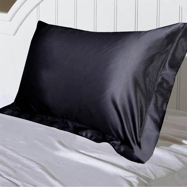 Hair Beauty Pillowcase Solid Color  Emulation   Pillowcase Single Pillow Cover