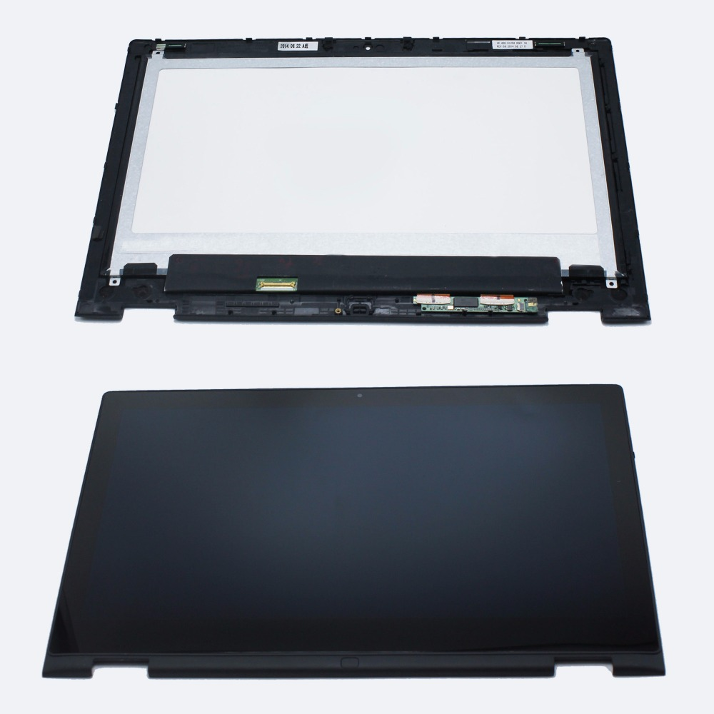 1366*768 For Dell Inspiron 13-7352 Touch Screen Digitizer Assembly For Dell 13 7352,with Frame lp133wh2 sp b1 for dell inspiron 13 7359 digitizer lcd touch screen assembly led display replacement 1366 768