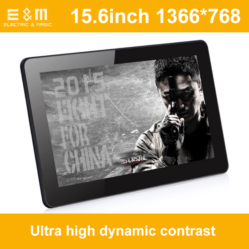 Full New 15.6 Inch 720P USB Display For Ps3 PS4 Raspberry Pi Xbox360 WiiU 8 Bits HDMI Laptop PC Second Monitor With Speaker