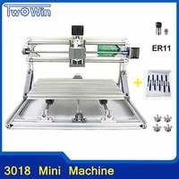 CNC Router DIY 3018 ER11 GRBL Control Diy CNC Machine 3 Axis PCB Milling Machine Wood