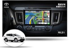 deckless 10.1″ 4G lite 2GB ram Android 6.0 car dvd player stereo gps tape recorder for toyota rav4 rav-4 2014 2013 head units
