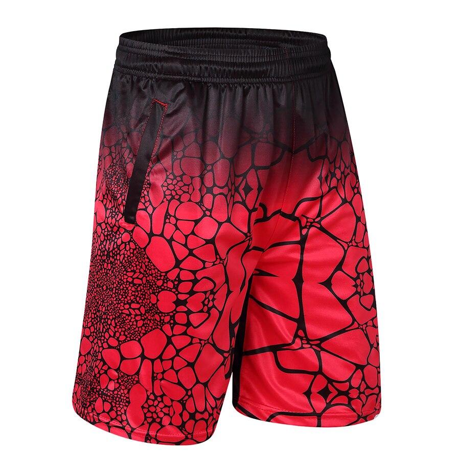 Hohe Qualität 2017 Männer Casual Shorts Polyester Digital Print Mann Bermuda Shorts Mit Zipper Tasche Knie Länge Hosen Männlichen 100% Original