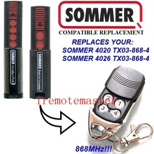4 Buttons German Sommer 4020,4026 replacement remote free shipping