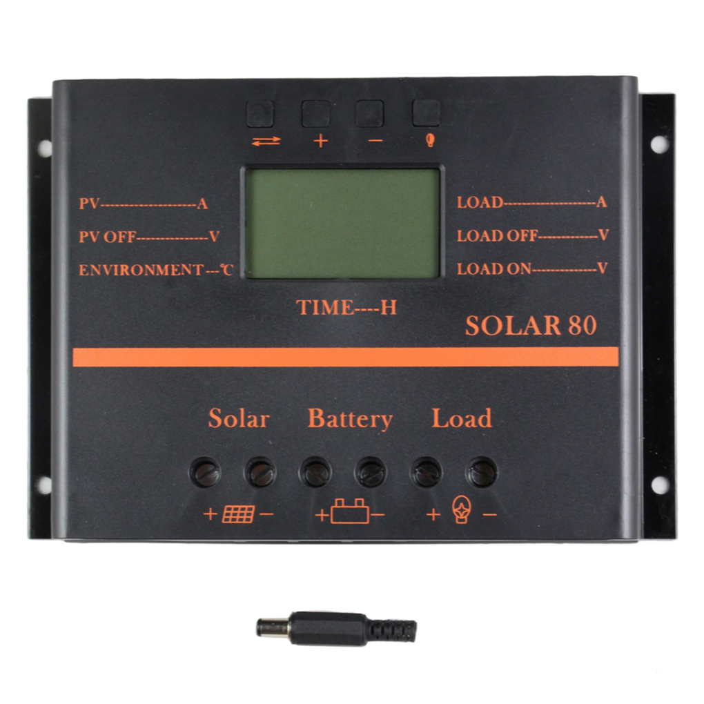 Hot LCD Display Current Solar Controller Solar Panel Battery Charging Regulator Photovoltaic Power GenerationHot LCD Display Current Solar Controller Solar Panel Battery Charging Regulator Photovoltaic Power Generation