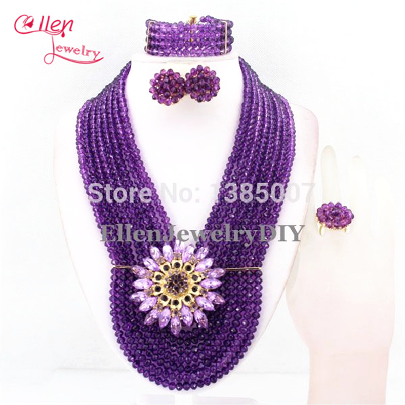 African style Statement necklace jewelry set African Beads Jewelry Set nigerian wedding bridal Crystal Beads Necklace Set E1197African style Statement necklace jewelry set African Beads Jewelry Set nigerian wedding bridal Crystal Beads Necklace Set E1197