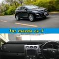 Dashmats car-styling accesorios tablero de instrumentos cubierta para mazda cx-7 cx7 2006 2007 2008 2009 2010 2011 2012 2013 2014 2015 2016 RHD