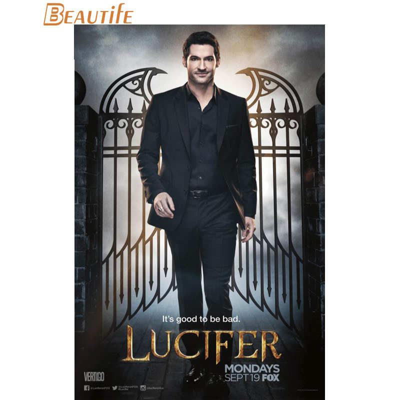 Lucifer Season 4 Remiel: Hot Sale Custom Lucifer Season 3 Poster Home Decoration