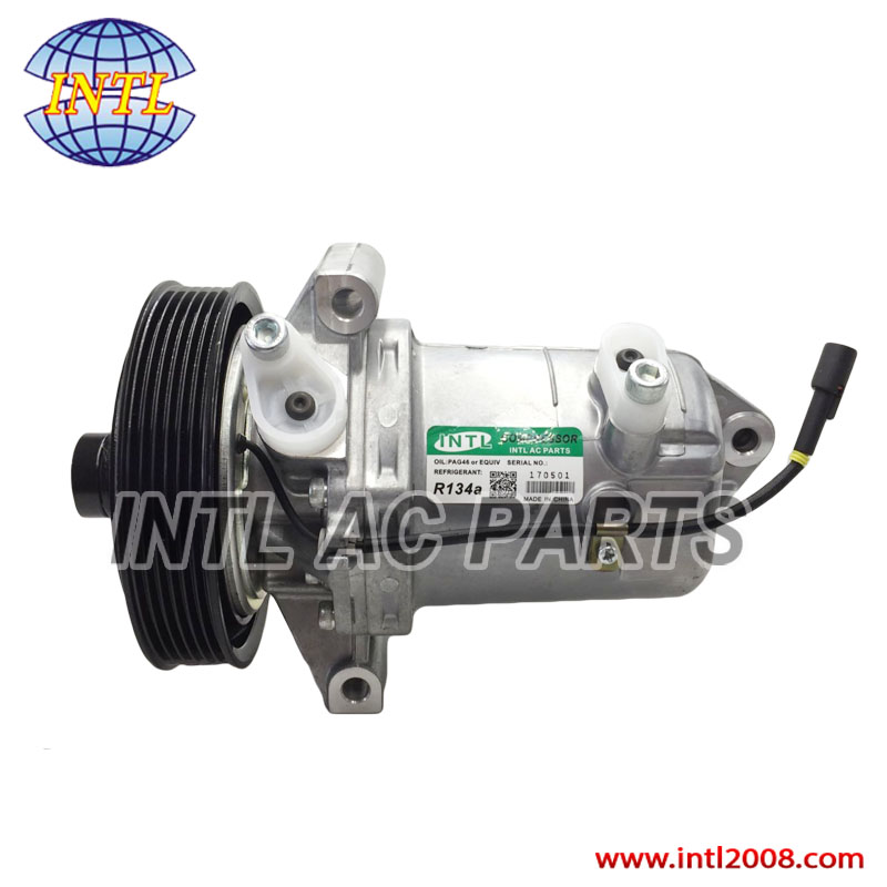 US $130 0 |52021260 RC 600 205 for GM S10 auto air a/c ac compressor for Gm  S10 2 8 Turbo Diesel 2013 2014-in Air-conditioning Installation from