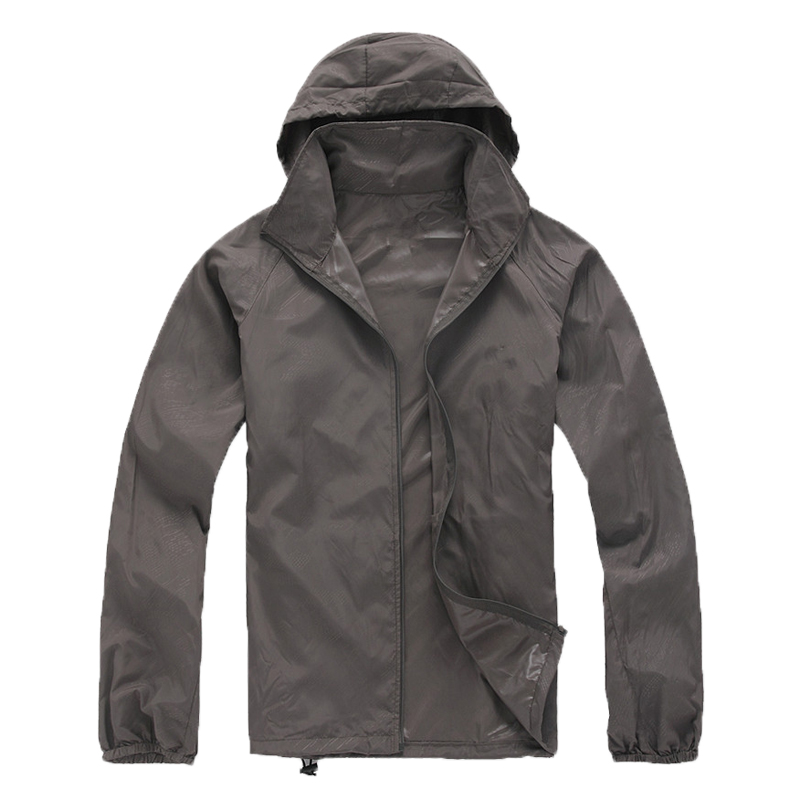 2016 любителей кожи Солнцезащитная одежда Для мужчин Для женщин Быстрый Fast Dry Походные куртки ветрозащитный Защита от солнца УФ-защита Открытый Спорт дождь Пальто для будущих мам