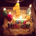 Birthday Cake Candles Lovely cartoon baby one hundred days birthday candle shape cake party dress adornment digital candle