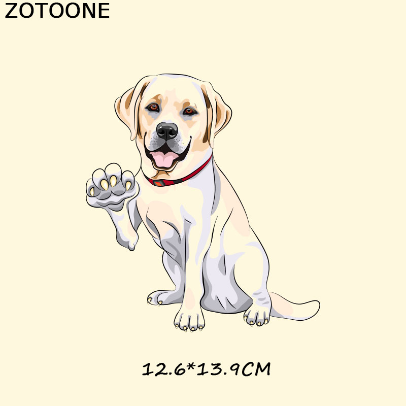 ZOTOONE Animal Patch A Level Washable Easy Print By Household Irons T Shirt Diy Decoration Parches Ropa Appliques on Clothes F in Patches from Home Garden