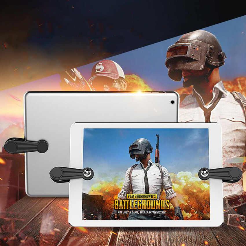 1 пара для PUBG мобильный для сенсорного геймпада джойстик игровой триггер шутер контроллер пожарная Кнопка Aim Key для iPad