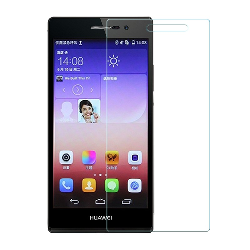 Tempered Glass for Huawei P6 P7 P8 P9 lite Honor 6 7 3C 4C 4X 5X Screen Protector Explosion-Proof Protective Film + Cleaning Kit 4