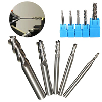 5pcs New 3 Flute End Mill HRC50 Solid Carbide Milling Cutter 2 3 4 6 8mm