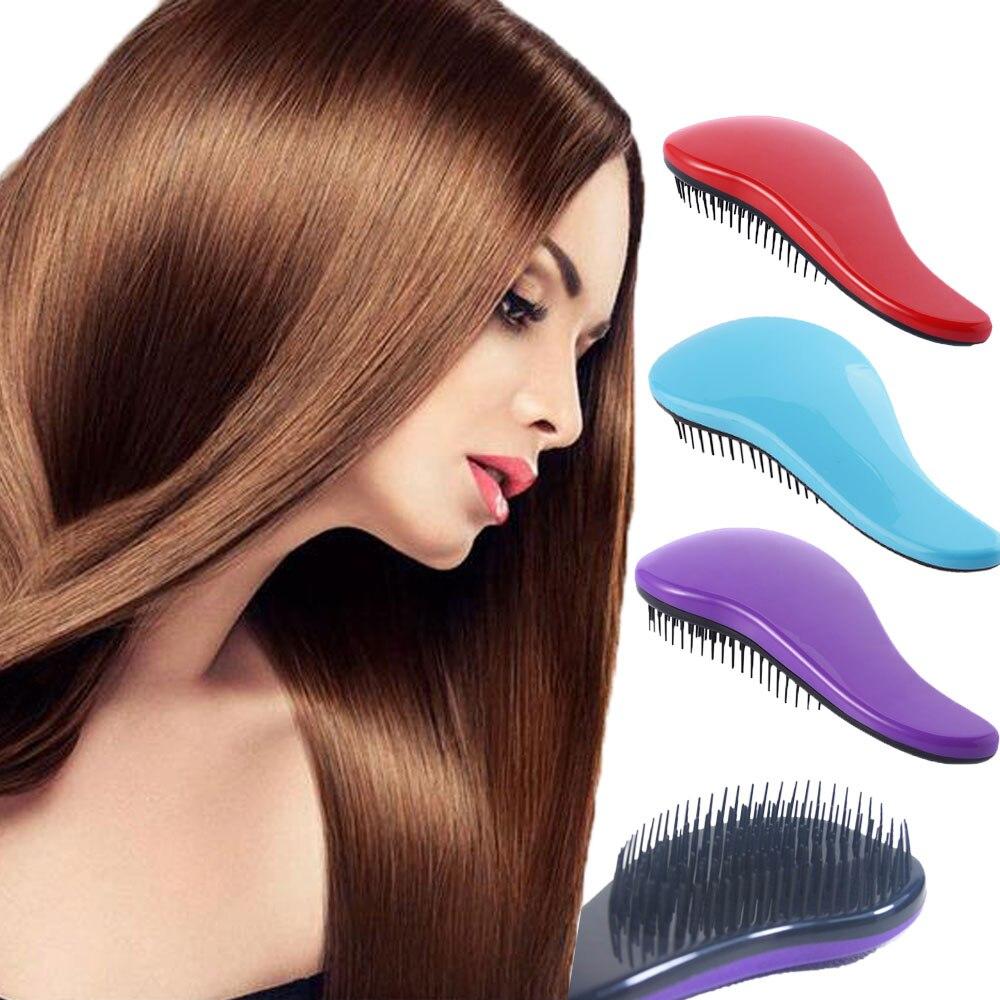Oyakom Magic Handle Tangle Detangling Comb For Hair Shower Hair Brush Salon Styling Tamer Tool Hot Sell Professional Hair Comb