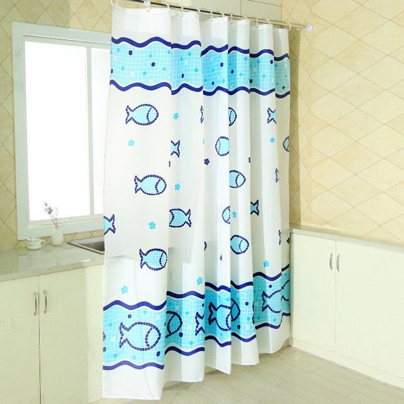 Bunte Wasserdicht Dusche Vorhang Mildewproof Polyester Stoff Bad ...