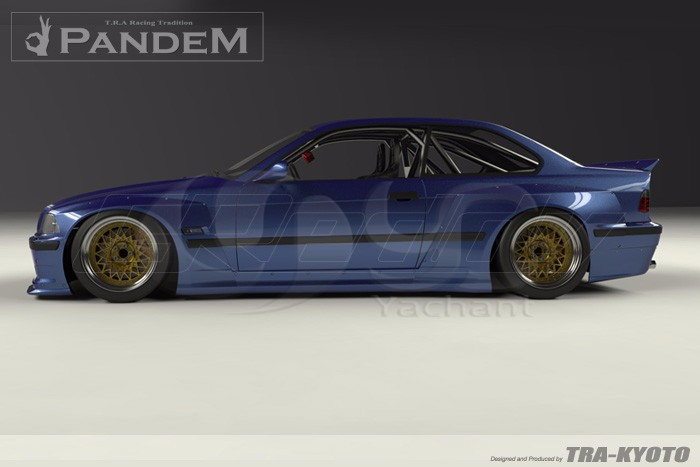 1992-1999 BMW E36 M3 Coupe GReddy Pandem Style Body Kit FRP (7)