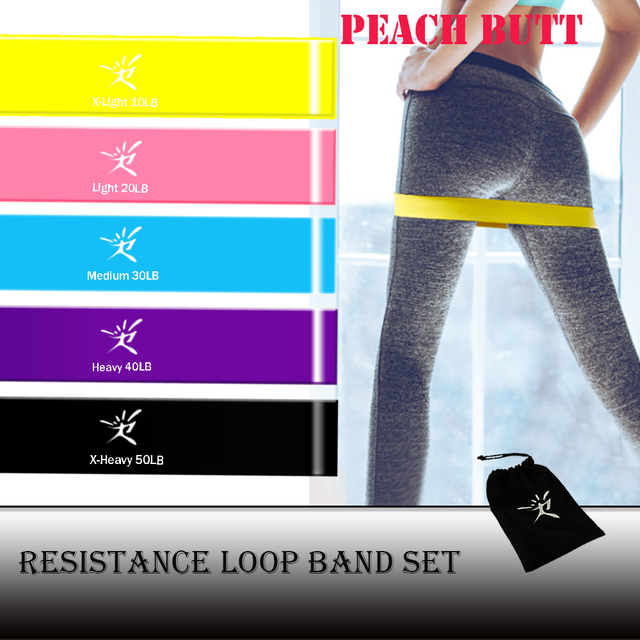 Resistance Loop Bands Elastic Rubber Bands for Fitness Equipment Fitness Elastic Bands Expander Pull Rope Gym Training Workout