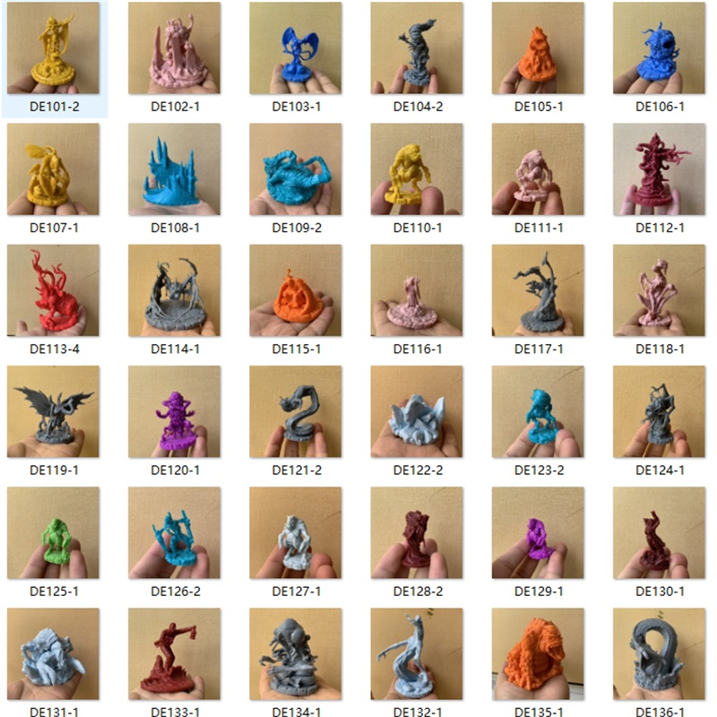Dungeons and Dragons Board Role playing Games Miniatures Model Underground City Series Cthulhu Wars Game Figures Toy image