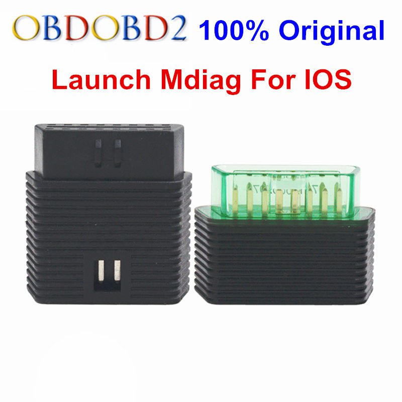 ФОТО Original Launch M-Diag Mdiag For IOS Android Built-in Bluetooth OBDII MDiag Support Both Write And Read Better Than Easydiag