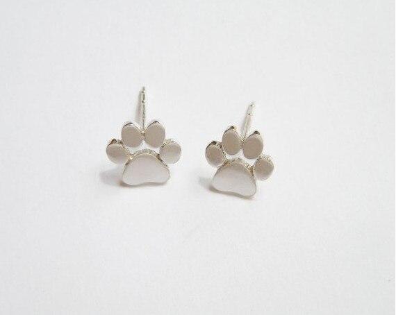 boucle d'oreille patte de chat