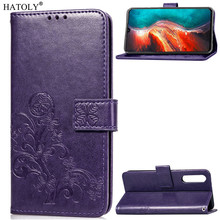 Phone Case For Huawei P30 Cover Flip Silicone Leather Wallet Funda