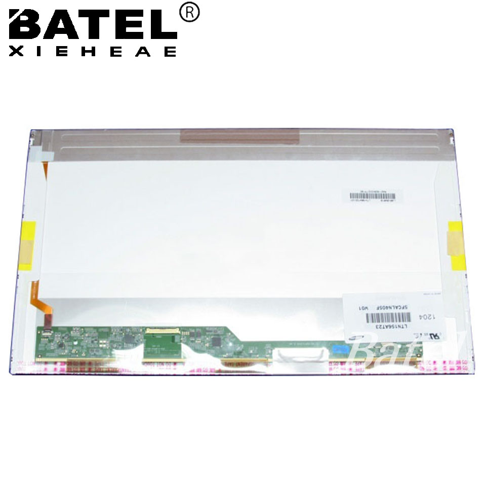 LTN156AT23 Laptop LCD ScreenWXGA 1366X768 Matrix for Laptop 15.6 LCD Screen LED Display 40Pin Glossy for samsung r425 14 0 led display laptop lcd screen matrix panel glossy 1366 768 hd lvds 40pins