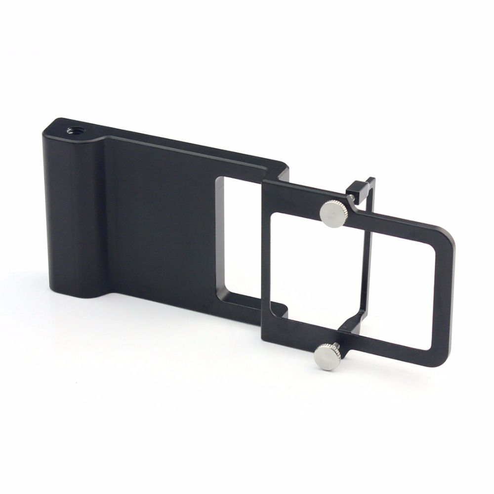 Compatible Switch Mount Plate adapter for Gopro 5 4 3 3+ xiaoyi fit for dji Osmo Mobile Zhiyun Z1 Smooth C R 2 II Gimbal