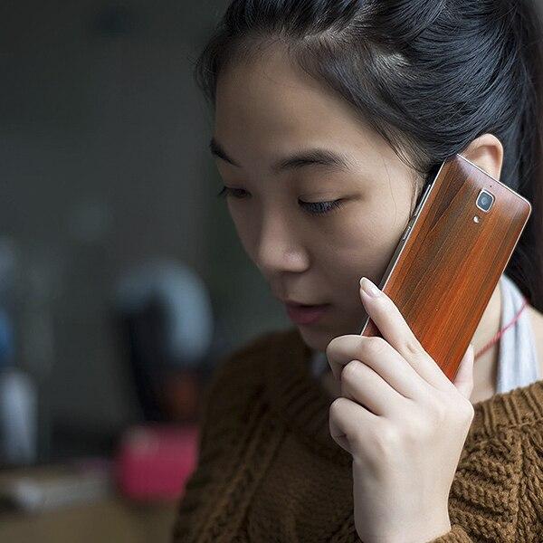 Xiaomi mi4 batareya qapağı m4 Bambuk üslublu batareya - Cib telefonu aksesuarları və hissələri - Fotoqrafiya 2