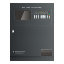 Addressable Fire Alarm Control Panel 2 loop for 648 addresses fire alarm control panel