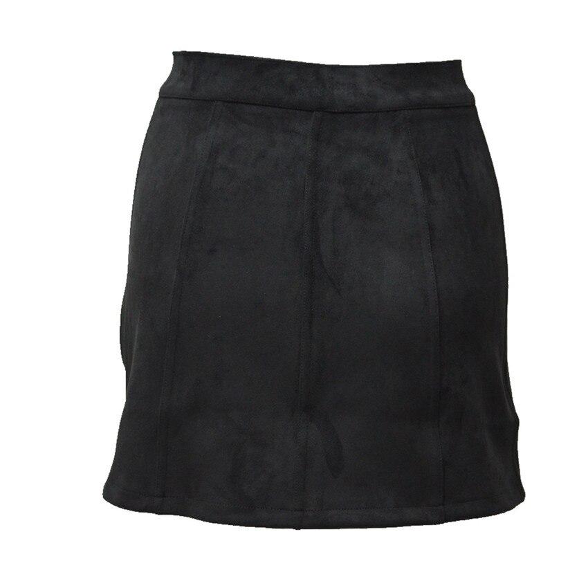 HTB1ZvLYPpXXXXbUXpXXq6xXFXXXy - Spring Button Suede Leather Skirts JKP058