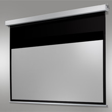 120 Home cinema electric screen motorized Electric Auto HD Projection Screen 16 9 display hidden projector