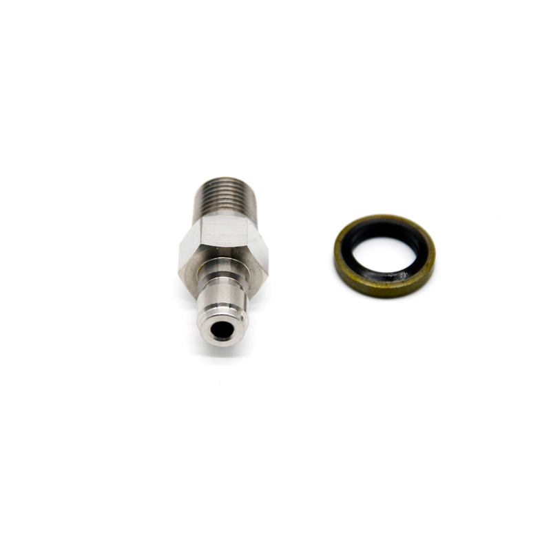 New PCP Paintball Quick Coupler Male Quick Disconnect Plug Stainless Steel 1/8NPT 1/8BSPP Options