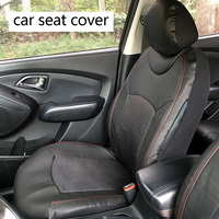Dewtreetali Car Styling Auto Car Seat Covers Universal PU Leather Automobiles Seat Covers For KIA Lada