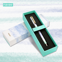 Never Watercolor Collection Gel Ink Pen 0 5mm Black Ink Pen Gel Pen Gift Packing Gift