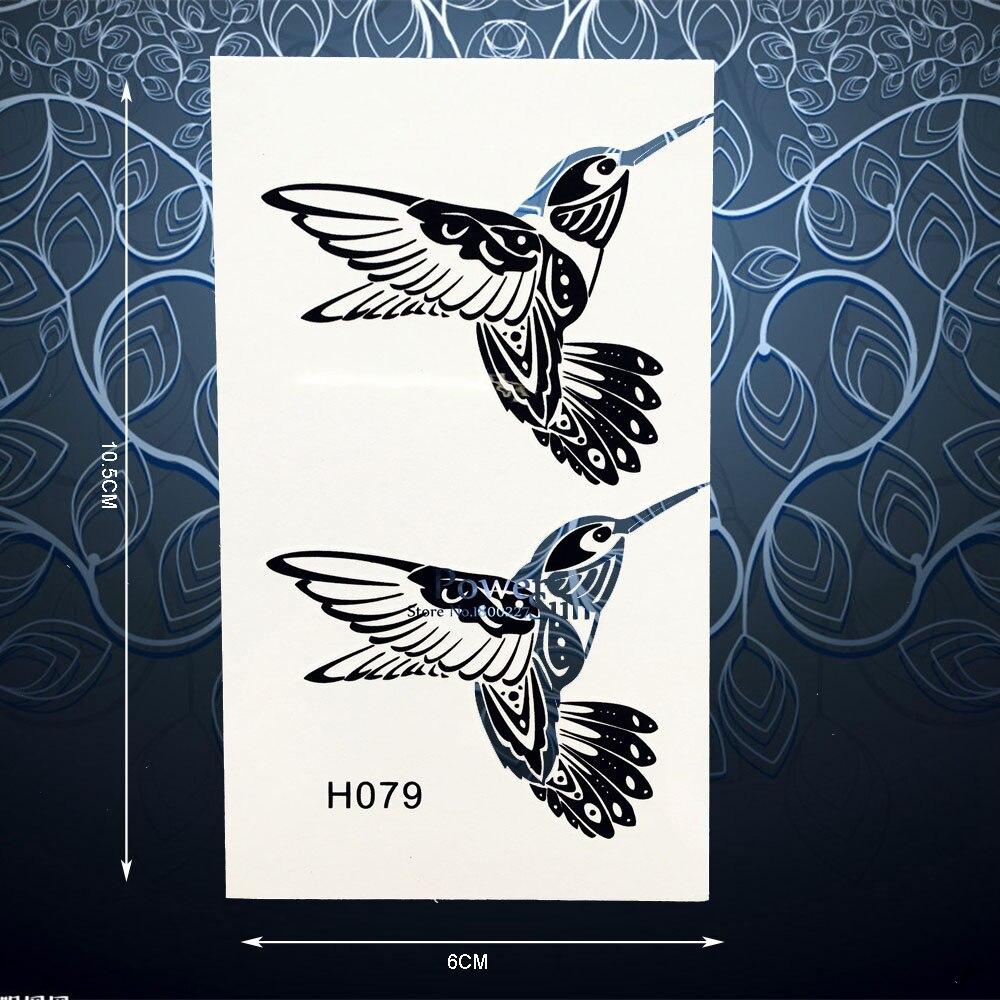 Exquisite Grasmus Wielewaal Vogels Tijdelijke Tattoo Sticker Voor Tang Ampere Sanwa Ac Dc Dcm2000ad Vrouwen Body Arm Art Decals Waterdichte Wegwerp Stickers Ph79