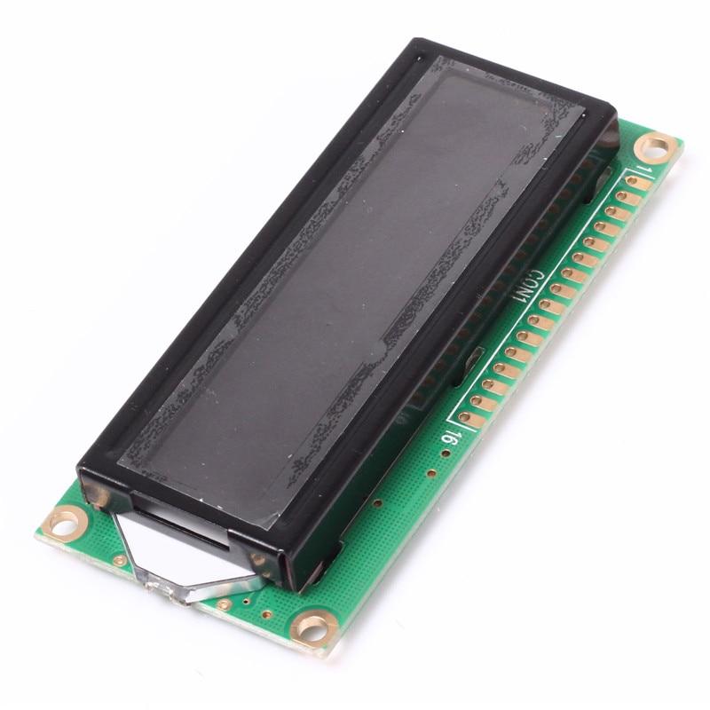 3.3V LCD1602A 16X2 Dot Matrix LCD Display Module Red Character Black Background
