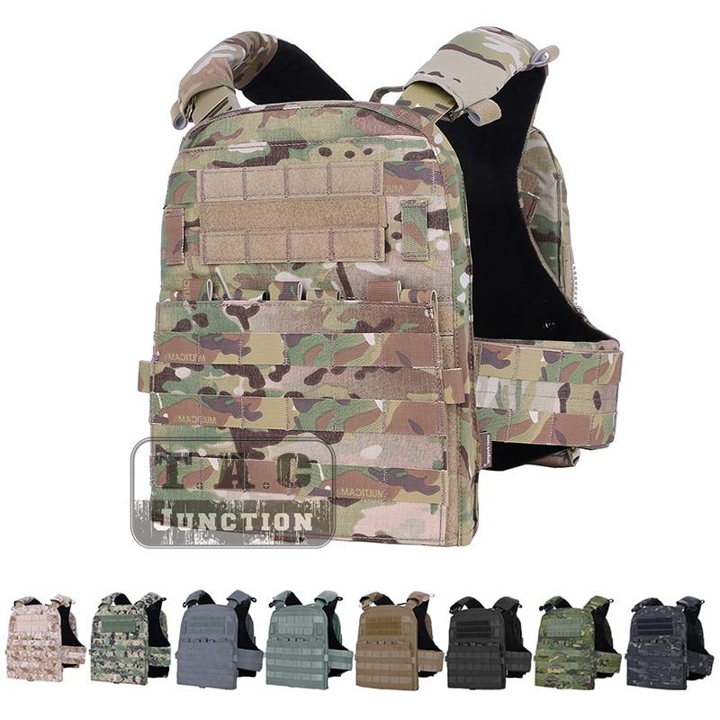 Emerson Адаптивная тактическая AVS тяжелый жилет пластина Перевозчик EmersonGear Body Armor AVSHarness + пластина сумка комплект + передний Молл лоскут