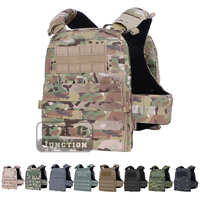 Emerson Adaptive Tactical AVS Heavy Vest Plate Carrier EmersonGear Body Armor AVSHarness + Plate Pouch Set + Front MOLLE Flap