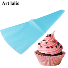 Kitchen Portable Reusable Silicone Icing Piping Cream Pastry Bag Cake DIY Decorating Tool Hot