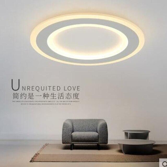 Studie Lampe Led Deckenleuchte Einfache Moderne Mode Personlichkeit Runde Wohnzimmer Esszimmer Schlafzimmer Kreative Schlanke Lampen