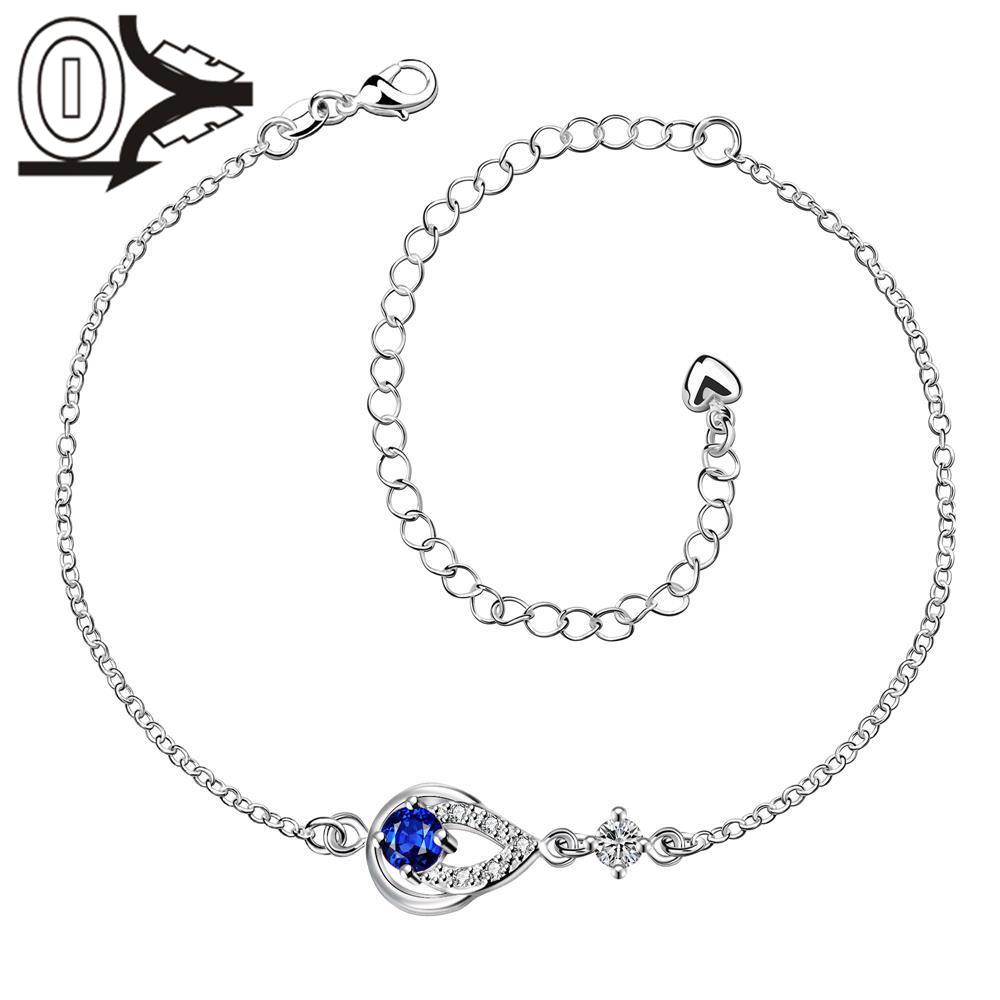 A001-A Free Shipping Lose Money Large Stock Delicate Handmade Cheap Silver Plated Anklet Ladies Feet Chain Bracelets Bulk Sale