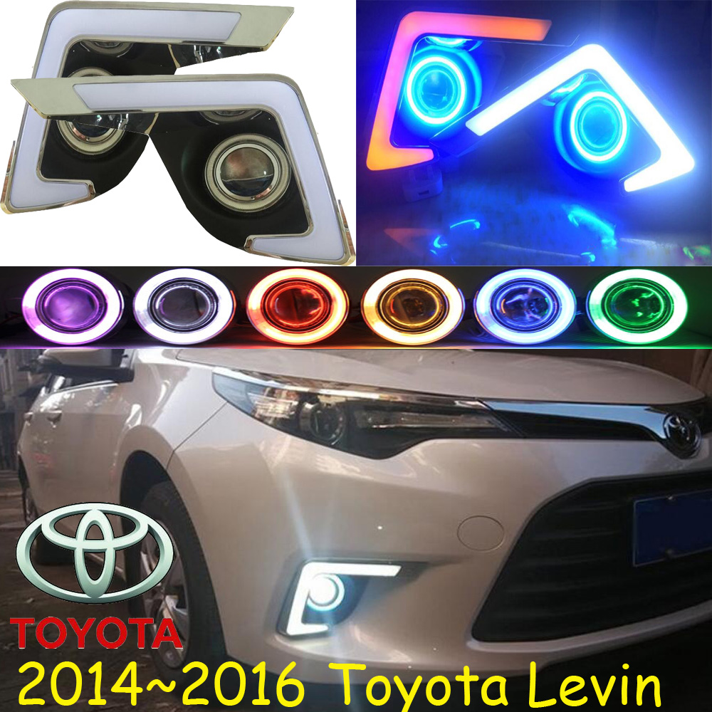 Car-styling,LEVIN fog lamp,2014~2016,chrome,LED,Free ship!2pcs,LEVIN head light,car-covers,Halogen/HID+Ballast;LEVIN автоинструменты new design autocom cdp 2014 2 3in1 led ds150