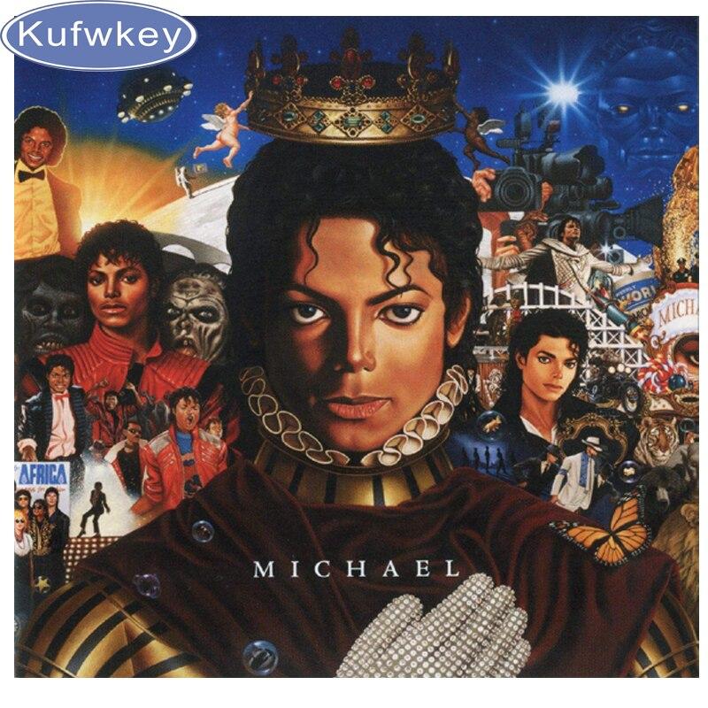 9924abb5a53bb1 Strass Décor À La Maison DIY Diamant peinture chanteur star Michael Jackson  3D point de croix diamant mosaïque motif diamant broderie