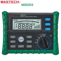 FAST SHIPMENT Mastech MS5203 Digital Megger Insulation Tester Resistance Meter Tecrep 10G 1000V AC/DC Voltage Electrical Test