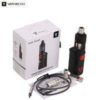 100 Original Vaporesso Target Mini Starter Kit 40W VW VT 1400mAh Battery Hookah With 2ML Guardian